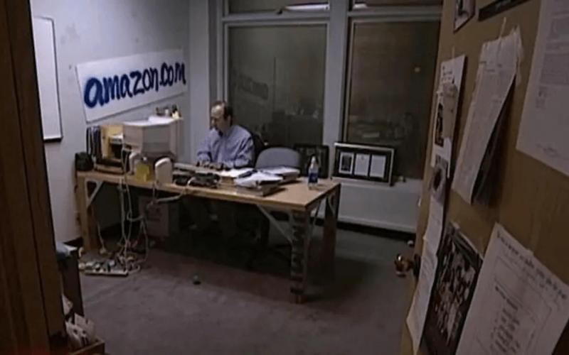 Meilenstein in der Geschichte des E-Commer: Jeff Bezos' Büro - eMagnetix
