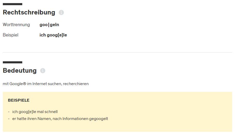 """Der Begriff """"googeln"""" hat es offiziell in den Duden geschafft - eMagnetix"""