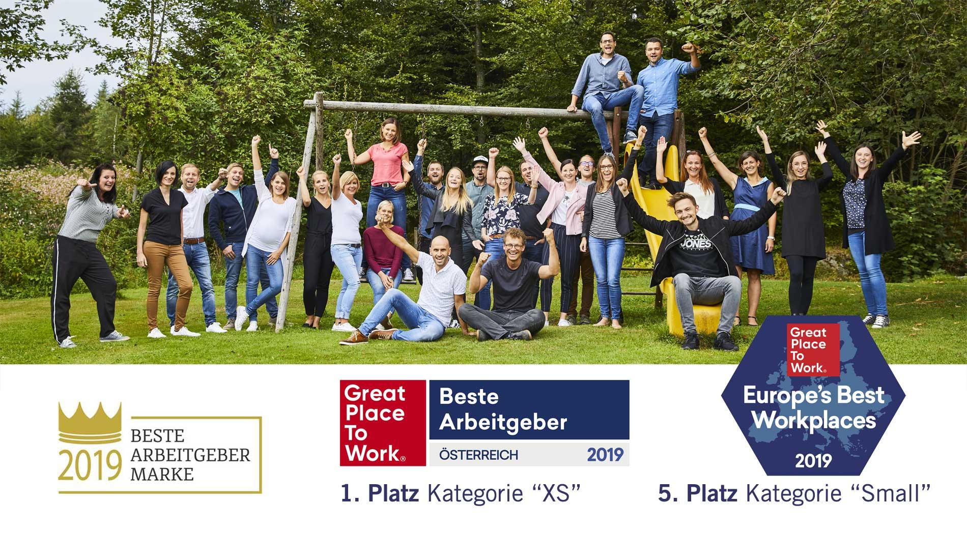 Bester Arbeitgeber für Digital Jobs in Oberösterreich - eMagnetix